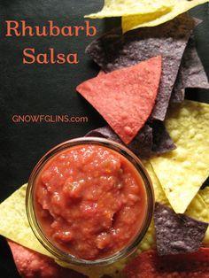 Rhubarb Salsa - NourishingJoy.com
