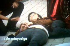 ka olga waktu di hipnotis tdi @dahsyatnyaolga