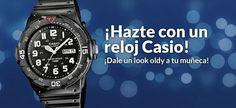 ¡Hazte con un reloj Casio!