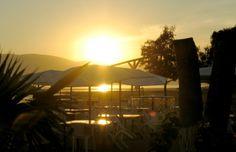 Sunset at Lake Chapala