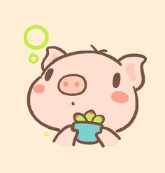 Pig Pig Wallpaper, Kawaii Wallpaper, Animal Wallpaper, Kawaii Pig, Kawaii Cute, Kawaii Anime, This Little Piggy, Little Pigs, Cute Images