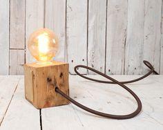 east london furniture - block lamp