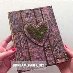 Fun Crafts For Teens, Cute Crafts, Creative Crafts, Diy For Kids, Cardboard Box Crafts, Paper Crafts Origami, Diy Resin Art, Diy Art, Diary Decoration