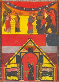 In the century, in a monastery in the mountains of northern Spain, 700 years after the Book of Revelations was written, a monk named Beatus set. Ferdinand, New Testament Books, Angel Show, Romanesque Art, Art Roman, Apocalypse, Art Database, High Art, Illuminated Manuscript