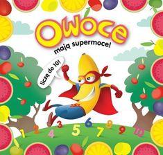 Owoce mają supermoce! - - Wilga - Księgarnia internetowa czytam.pl Yoshi, Tweety, Fictional Characters, Fantasy Characters