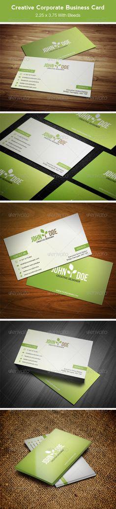 Creative Corporate Business Card PSD Print Template   Download: http://graphicriver.net/item/creative-corporate-business-card-86/7489287?WT.ac=category_thumbWT.z_author=peerbitsref=ksioks