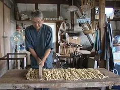 ▶ Sekishu-Banshi: papermaking in the Iwami region of Shimane Prefecture - YouTube