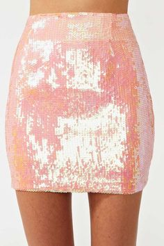 Iridescent Sequin Skirt | Shop What's New at Nasty Gal
