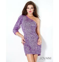 $457.00 Jovani Short Dress at http://viktoriasdresses.com/ Through John's Tailors
