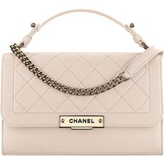 Chanel Pre-Fall 2017 Seasonal Bag Collection ❤ liked on Polyvore featuring bags, handbags, handbags shoulder bags, chanel bags, pink shoulder bag, chanel shoulder bag and pink bag http://www.allthingsvogue.com