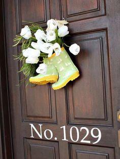 10 Welcoming Spring Door Decorations | Spring door, Nest and Doors