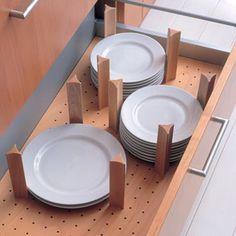 Plate holder kitchen storage