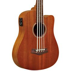 Gold Tone GT-Series M-Bass/FL 4-String Acoustic MicroBass Fretless for Electric Bass Guitar – Natural $ 354.99 Bass Guitars Product Features Fretless Neck 23″ Scale Length Standard EADG Bass Guitar Tuning Rubber Strings made by Aquila Gigbag Included Bass Guitars Product Description The MicroBass, or M-Bass, is a 23″ short-scaled acoustic/electric bass guitar that utilizes a dedicated synthetic string made by the Aquila company and a piezo transducer pickup that […]..