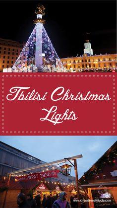 Tbilisi Christmas Lights - Latitude with Attitude Orthodox Calendar, Christmas Lights, Merry Christmas, Christmas Vacation, Attitude, Georgia, Christmas Rope Lights, Mindset, Merry Christmas Love