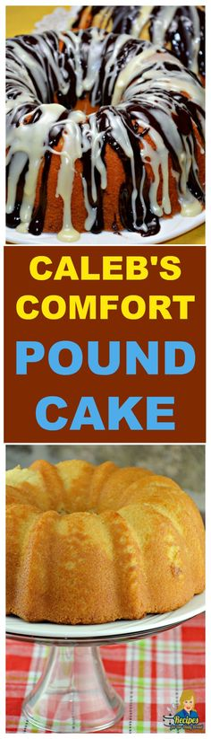 COMFORT POUND CAKE  This pound cake is incredibly delicious and super moist.  We have been baking it for twenty years.  PRINTABLE RECIPE: http://recipesforourdailybread.com/calebs-comfort-pound-cake/