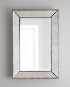 Beaded Wall Mirror, 24