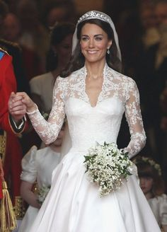 Two billion people tuned in to watch Kate Middleton marry Prince William in a now-famous Alexander McQueen dress.
