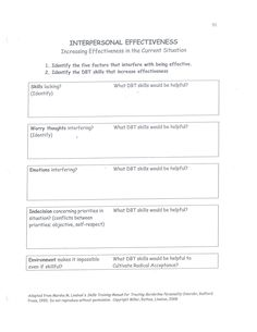 22 Interpersonal Effectiveness Ideas In 2021 Interpersonal Effectiveness Interpersonal Coping Skills