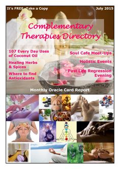 Complementary Therapies Directory  July 2015 issue