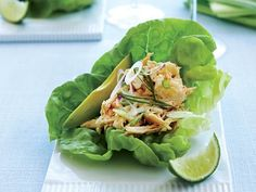 Method: In a large bowl add the crab meat, peppers, shallots, peppers. Season with salt and pepper. In a small bowl add the mustard and mayonnaise and mix well. Add the dressing to the crab meat and mix. On a platter separate the butter lettuce into lettuce cups. Place a tbs or a little more […]