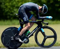 Chris Froome during the ITT of the 2013 Dauphiné.