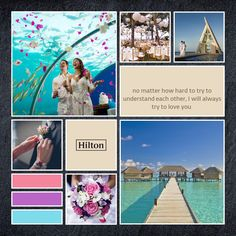This is my #visionoflove mood board. Create yours now too and win a 5D4N dreamy trip to Conrad Maldives Rangali Island! http://hiltonasiaweddings.com/contest