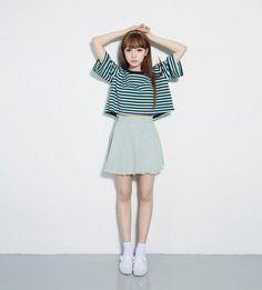 【搭配】偷偷告诉你!男生最爱女生这样的韩式打扮!简简单单就很美!
