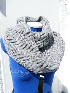 How to make a neckline with a video clip and a knitting pattern?  5