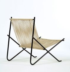 """""""Holscher"""" Chair by Poul Kjaerholm   From a unique collection of antique and modern lounge chairs at https://www.1stdibs.com/furniture/seating/lounge-chairs/"""