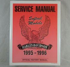 1995 1996 HARLEY DAVIDSON SOFTAIL MODELS Service Shop Repair Manual OEM NEW