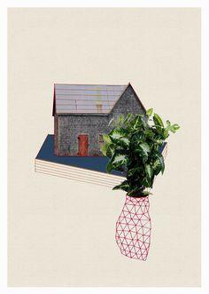 Hagar Vardimon-van Heummen  MORE collage, graphic, mixed media art HERE http://graphicmixedmedia.altervista.org/