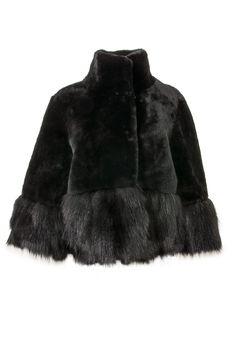 Abrigo corto de pelo Zerimar