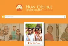 #HowOldRobot from Microsoft is showing old it thinks you might look in your photos.  http://how-old.net/
