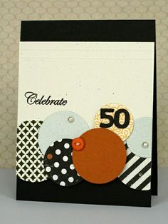 Good masculine birthday card. Would work for any milestone age.