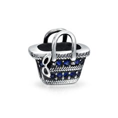 Colorful Beach Lounge Chair Umbrella Tropical Vacation Travel Dangle European Charm Bead For Women 925 Sterling Silver