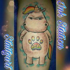 Tattoo from Billy from the Ink Station Stuttgart  www.ink-station.net  #tattoos #tattoo #tattooart #tattoostuttgart #stuttgart #inked #tattooartist #tätowierung #tattoolover #tattoooftheday #tattooideas #tattooshop #tattooed #inkstation #tattoomag #tattoostyle #tattoocommunity #tattooart #einhorntattoo #unicorn #unicorntattoo