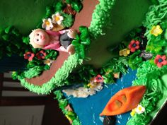 Hiking cake....this is perfect for me!!