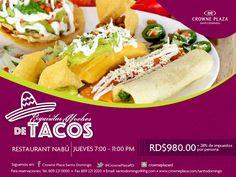 Noche de Tacos en Nabú #Guacamole #Tortillas