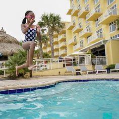 Family fun at The Shores Resort & Spa - Daytona Beach, FL via Florida Hotels, Florida Vacation, Florida Beaches, Beach Vacations, Family Vacations, Beach Resorts, Daytona Beach Hotels, Daytona Beach Florida, Beach Kids