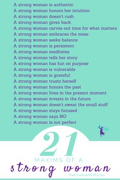 The 21 Maxims of a S