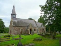 Historic St Michaels, in Herefordshire. The parish register begins in 1625.