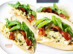 Receita » Sanduíche de frango com gorgonzola - Gulab