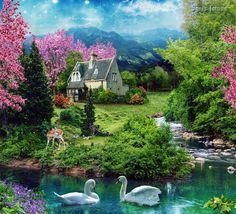 My Country Home *Photo Manipulations by Ignis Fatuus