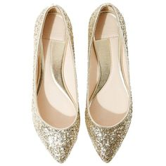 Women's sequin ballerina pumps ❤ liked on Polyvore featuring shoes, ballet shoes, skimmer shoes, ballerina flat shoes, ballet flat shoes and ballerina shoes