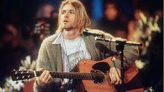 Kurt Cobain Authorized Art Exhibit in the Works #headphones #music #headphones
