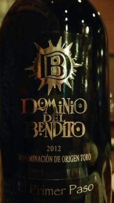 Dominio del Bendito El Primer Paso 2012 - DO Toro - Bodegas Dominio del Bendito - Vino tinto joven con 6 meses de crianza en barricas de roble frances y americano - Tinta de toro 100% - 15%