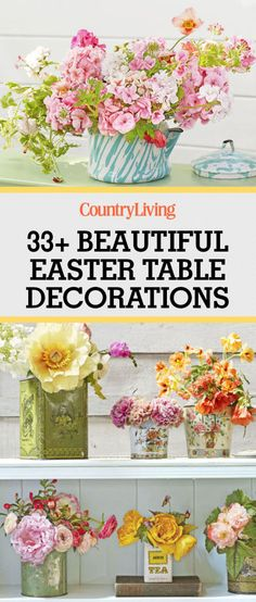 Don't forget to save these table decorations and centerpiece ideas for later.