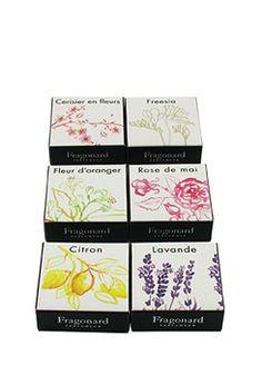 6 Concrètes Aquarelle  Coffret 6 parfums solides Aquarelle 6 x 3 gRéf. 6PS004