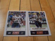 #AlshonJeffery #MattForte #2014 #Score #NFL #ChicagoBears Lot of 2 Base Cards | #eBay #Chicago #sportscards
