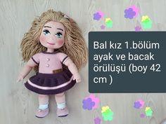 Amigurumi Bal kız 1.bölüm ayak ve bacak örülüşü... - YouTube Coton Colors, Baby Knitting Patterns, Crochet Toys, Elsa, Make It Yourself, Dolls, Disney Princess, Disney Characters, Youtube